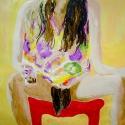 Masha 2005 Oil, paper 84x100cm