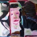 The Aviatress 2008 Oil, canvas 140x195cm