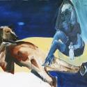 On an Iceberg 2008 Oil, canvas 115x175cm