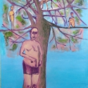 Pheromones 2008 Oil, canvas 175x110cm