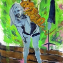 Begalska & Vilkin Skunk 2014 Oil, canvas 160х120cm