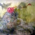 Begalska & Vilkin HUNTER 2017 Canvas, oil, oil pastel, pencil, charcoal 130Х200 cm