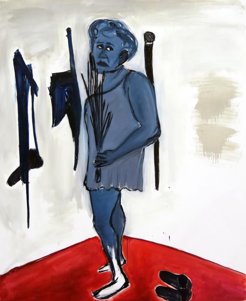 Zhenya the slave 2014 o/c 180x150sm